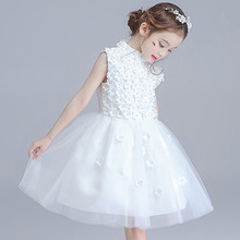 Flower girl princess tutu dresses for wedding party summer for size 3 4 5 6 7 8 9 10 11 12 years child 61 piano costume