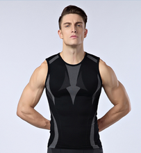 mens compression vest tight base layer skin gilet running gym Fitness Excercise soccer football vest sleeveless shirts