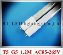 LED tube light lamp T5 LED fluorescent tube light T5 G5 1.2M 1200mm SMD2835LED 120led 20W 2400lm T5 AC85-265V