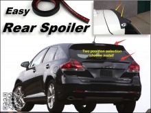 Root / Rear Spoiler For TOYOTA Venza 2008~2015 Trunk Splitter / Ducatail Deflector For TG Fans Easy Tuning / Free Modeling