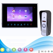 "7"" TFT 800TVL Video Intercom Doorbell Rainproof Door Phone Camera Video Doorphone System for CCTV Home Security F1359D"