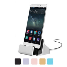 Sync Data USB Cable Charger Dock Stand Station Cradle Samsung Xiaomi Huawei Meizu Charging Dock Stationi Andriod Phone