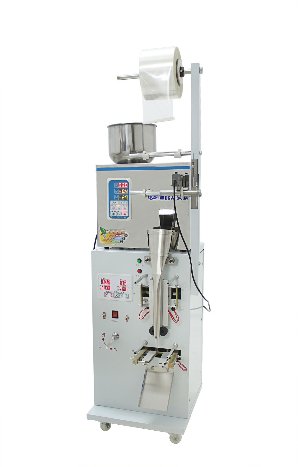 CapsulCN, 2-100g Full Automatic Foil Pouch Weight And Filling Packaging Machine,Herb/Powder/Food Packing Machine(Hong Kong)