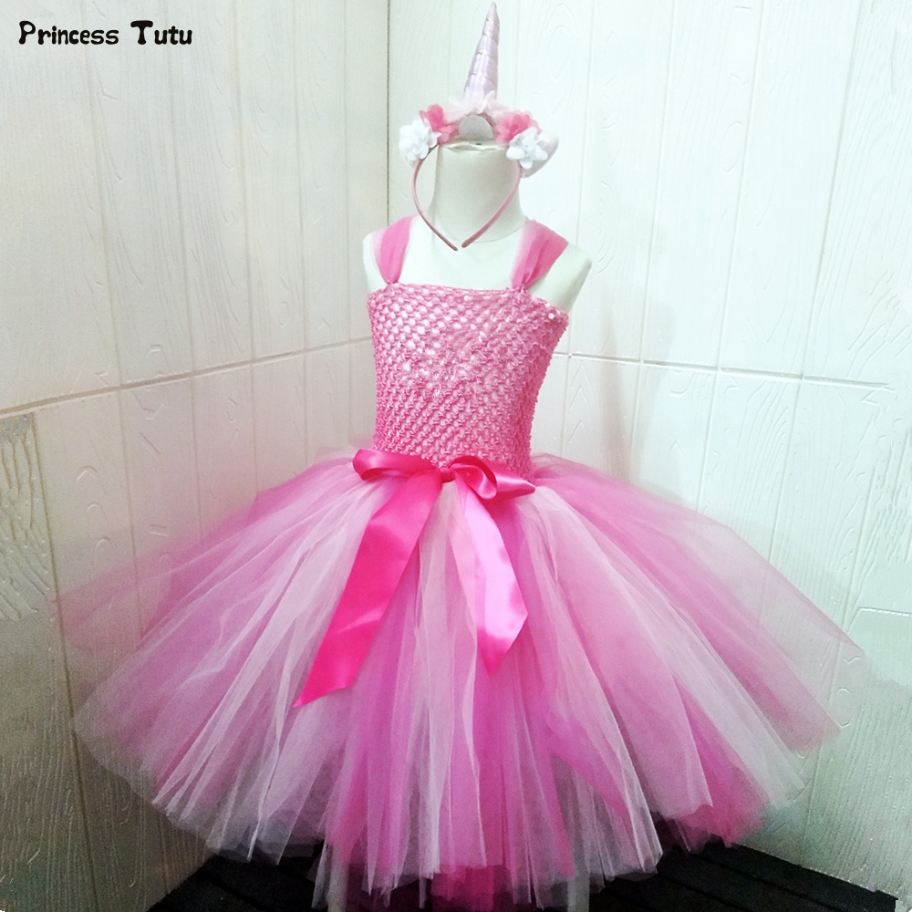 Aliexpress.com : Buy Creative Dress Up As Dance Unicorn Tutu Dress ...