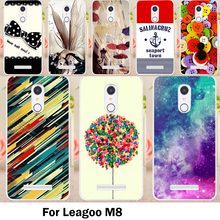 TAOYUNXI Cases Cover For Leagoo M8 Cover M8 Pro 5.7 Inch Bags Skin Soft TPU Diret-resistant Durable Cell Phone Sheaths(China)