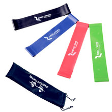 Latex Resistance Band Set 4 Levels Available Gym Strength Training Rubber Bands Fitness CrossFit Equipment Free Shipping