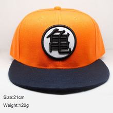 VORON 3 styles Cool cartoon Dragon Ball Z son Goku Orange summer baseball hat cospaly Anime Fashion Hip Hop hat for Men women