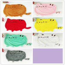 7 colors 40*30cm plush toy stuffed animal doll,girl kid kawaiiPillow cushions  anime toy pusheen cat pusheen skin