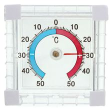 Window Indoor Dial Temperature Thermometer Outdoor Wall Greenhouse Garden Home Office Graduated Disc Measurement