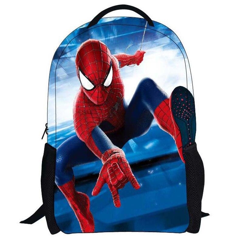 12inch Cheap Cartoon Spider man SpidermanBackpack For Teenagers Boys School Bags School Backpacks Kid Gift Bag<br><br>Aliexpress