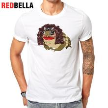 REDBELLA Tshirt Men 3D Spoof Graphic Cartoon Movie Hipster Clothes Tops Casual Short Sleeve Printing Polera Hombre Homme T-shirt(China)