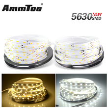 Super Bright LED Strip 5630 SMD DC12V 5M 300leds Flexible Led Ribbon Tape 5730 Bar Light Non-waterproof Indoor Home Decoration(China)