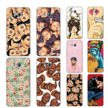 "Kimoji Grid Colorful Printing Case For HTC U11 U 11  Back Cover Soft TPU Silicone Phone Cases For HTC U11 5.5"" +Free Pen"