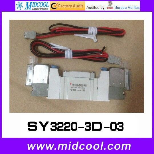 5 way pilot solenoid valve SY3220-3D-03<br>