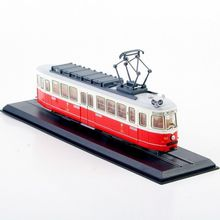 1/87 Tram C1 Nr.141 (Simmering-Graz-Pauker)-1957 Diecast Car Train Vehicles Collection Gift Bus Model Kids Toys brinquedos