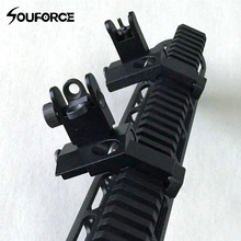 Hunting-Gun-Accessories Iron Sights Transition Rear-Side-Sight Front Tactical 45-Degree