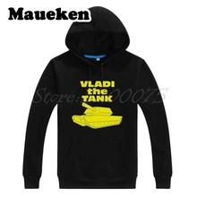 Men Hoodies Vladimir Tarasenko 91 The Tank St. Louis tanks Sweatshirts Hooded Thick for Blues fans gift Autumn Winter W17120301(China)