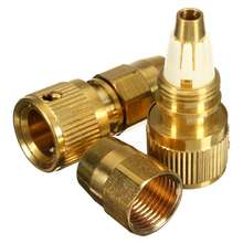 New 3/8 Inch Garden Water Hose Connector Water Pipe Connectors Brass Magic Gardening Expandable Retractable(China)