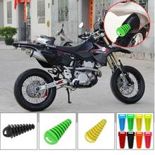 Motorcycle Dirt Bike 4 Stroke Muffler Pipe Exhaust Silencer Wash Plug 27-47mm car stlying