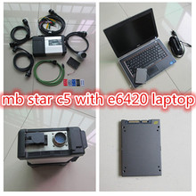Super MB Star C5 with i5 E6420 Laptop Puls Newest Software SSD for MB Star C5 SD Connect Support Technical help