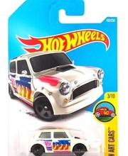 Hot Sale 2016 New Hot Wheels 1:64 Morris Mini car Models Metal Diecast Car Collection Kids Toys Vehicle Juguetes(China)