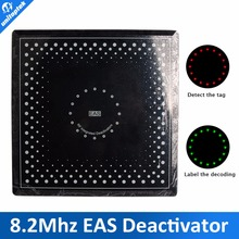 EAS deactivator RF 8.2Mhz soft label Electronic Article EAS RF Deactivator Pre-alarming, with sound and lights