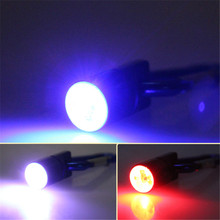 Aluminum Dog Pet Colorful Safety Flash Flashlight Lamp LED Light Collar Tag Random Color
