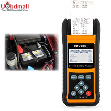 FOXWELL BT780 12V&24V Car Battery Analyzer Car Truck Battery Tester Printer Check Battery Health Starting Charging System(China)