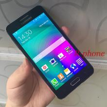 "Hot Sale Refurbished Original Samsung Galaxy A3 A3000 Quad-Core 4.5"" 8GB ROM 4G 8.0MP Camera Android Cell Phone"