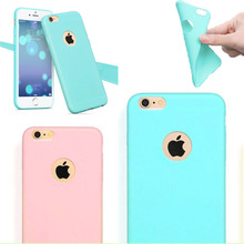Phone Case for Apple iPhone 5 5S SE Back Case Cover Candy Color Soft Silicone TPU Mobile Phone Cases for iPhone 5S iPhone5(China)