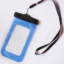 New Thicker PVC Practical Waterproof Underwater Dry Pouch Storage Bag Case For Cell Phone