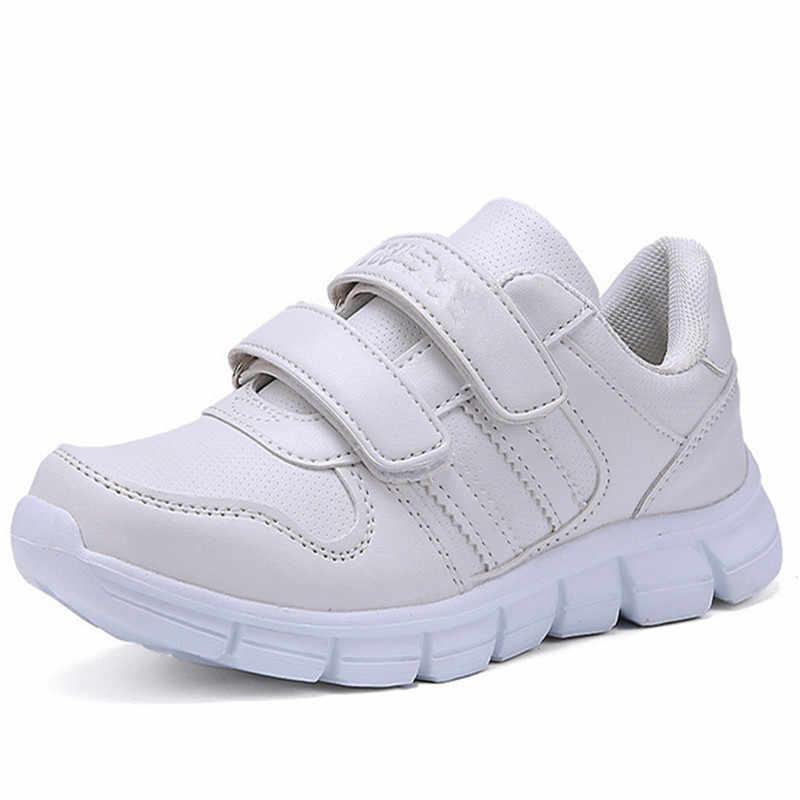 ef6c652b Горячая мода детская обувь Tenis Infantil дышащие детские белые кроссовки  для школы для мальчиков и девочек