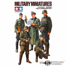 OHS Tamiya 35298 1/35 German Field Commander Set Miniatures Assembly Military figures Model Building Kits