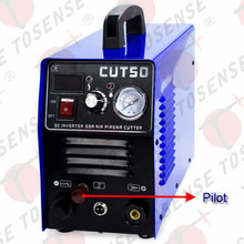 5 meters P80 straight vertical torch Plasma Cutter CUT50 Pilot Arc 50A 220V CNC Compatible with 100 sets consumables