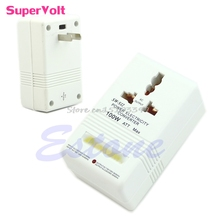 Professional Power Voltage Converter 220/240V To 110/120V Adapter #G205M# Best Quality