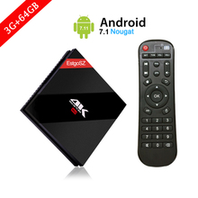 Buy New Arrival H96 PS 3G/64G Android Tv Box BT4.1 Android 7.1 Amlogic S912 Octa Core 2.4G/5.8G WiFi H.265 4K Media Player for $81.75 in AliExpress store