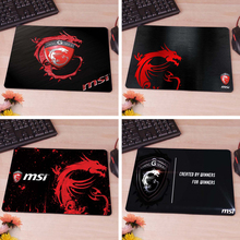 MaiYaCa Super popular News Sell New Small Size MSI Gaming Pad Necessary Mouse MatCute Mouse Pad Non-Skid Rubber Pad