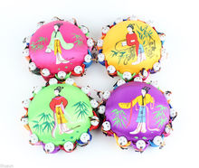 Wholesale 1pcs Classic Chinese Handmade Cute Silk Pin Cushion With12 Cute Kids