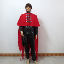 Anime Final Fantasy FF05 Vincent Valentine Cosplay Costume Custom-Made Any Size