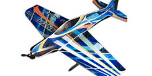 EPO Airplane Model 3D Manta 3D Airplane Wingspan 800mm Radio Control RC Model Plane aircraft(China)