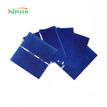 Jslinter 100pcs 52x52 0.49w Solar Cell Diy 12v Solar panel Welding Kit China Cheap Poly Cells Photovoltaic Energy Power Panels