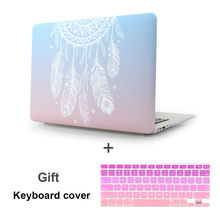 Plastic Hard Case with Keyboard Cover for MacBook Air 13 11 Pro 13 15 Retina Display & Touch Bar New 12 Inch Dream Catcher(China)