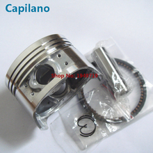 motorcycle CB200 piston kit with piston ring piston pin and piston pin lock  for Zone Zongshen 200cc CB 200 bore 63mm