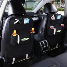 Travel Storage Bag Hanger For Car Seat Capacity Storage Pouch Auto Car Back Seat Storage Organizer Trash Net Holder Multi-Pocket
