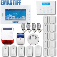 Buy Customized Smart FSK 868MHZ alarm system 7 inch Touch screen,850/900/1800/1900Mhz GSM home alarm security alarm system for $327.75 in AliExpress store