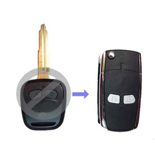 2 Buttons Modified Flip Remote Key Shell For Mitsubishi Lancer,Soveran,Tiida