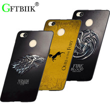 "Cute Cartoon Case For Xiaomi Redmi 4X 5.0"" Cases Hard Plastic Case Fashion Printed Cover Game of Thrones 7"