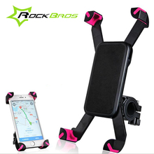 Rockbros Bike Accessories Smart Phone Holder Bag Bike Handlebar Bicycle Bag Cycling Riding Equipment Mountain Bike Accessory 45