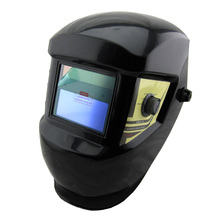 Li battery +Solar Battery Supply Outside Control Auto Darkening Welding Helmet/Welder Goggles/Weld Mask free shipping(China)