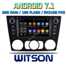WITSON Android 7.1 QUAD CORE CAR DVD GPS FOR BMW MANUAL AIR BMW E90/E91/E92/E93 car dvd player support DAB front/back camera(China)